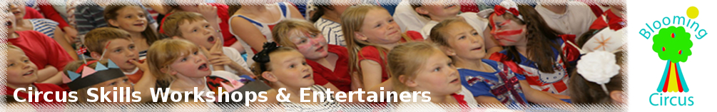 circus skills workshops for schools