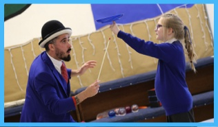 circus workshops for children